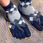 October fashion – socks or sandals?